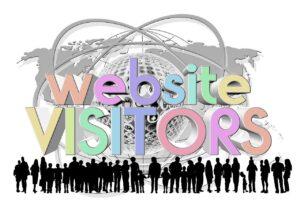 website, visitors, personal
